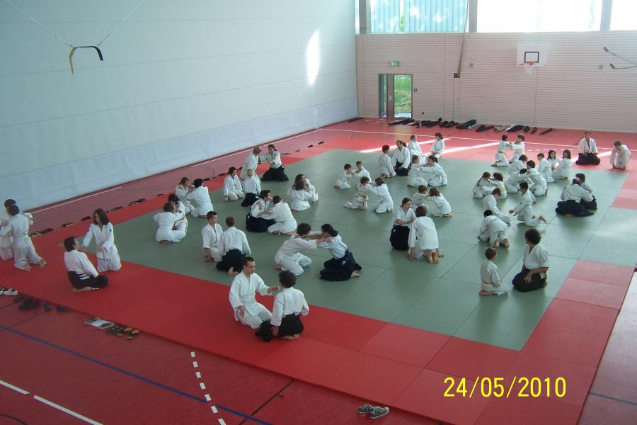 aikido birankai stage jeunes européens