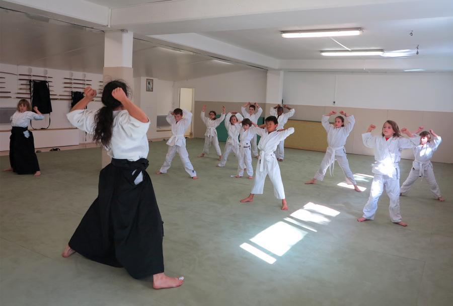 Cours Aikido enfants paris