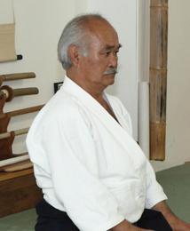 K.Chiba sensei 31 juillet 2012 au kamiza de Ann Jyou Kan