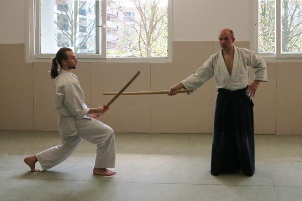 Stage Didier Hatton Cercle Aikido parisien
