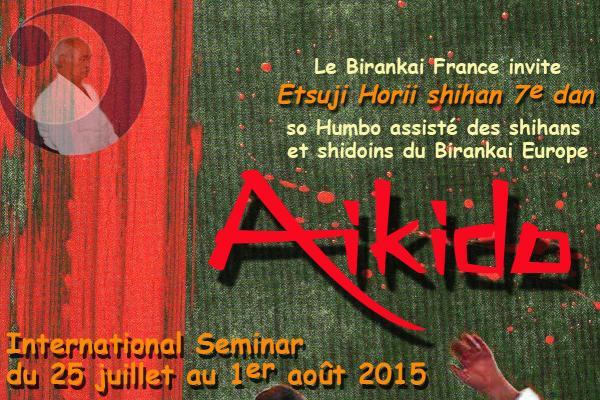 Stage Birankaï Europe 2015